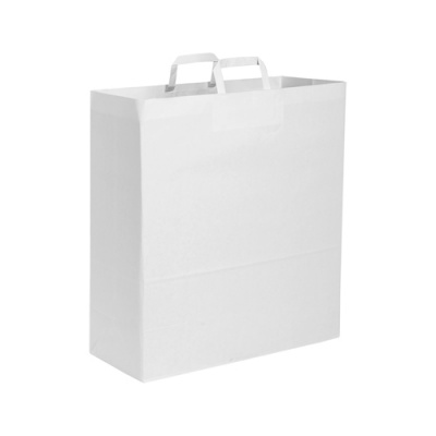 350 SHOPPERS IN CARTA BIANCA MIS. 22X12X29 CM.