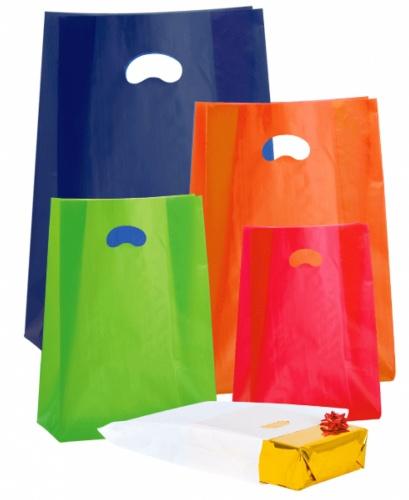 Sacchetti in Plastica Gilet Stile Fosly Buste per Spesa con Manici 9 x 40 Sacchi